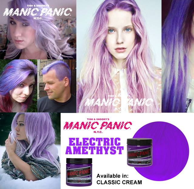 electric amethyst manic panic - photo #31