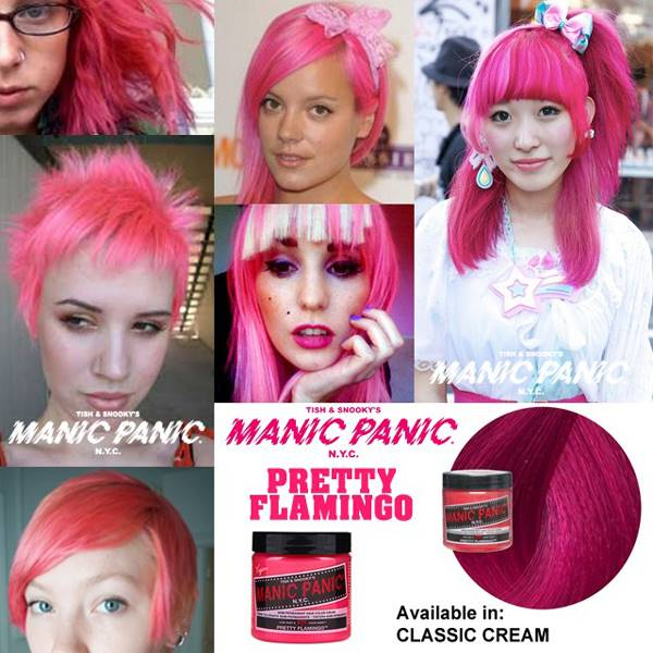 tinte fantasia para pelo color rosa pretty flamingo