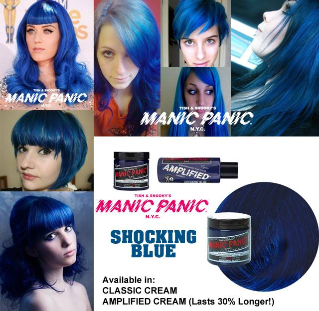 tinte fantasía para pelo color azul shocking blue
